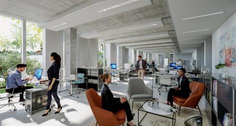 Infographie - L'immobilier de bureaux et l'attractivité des métropoles françaises : regard croisé salariés et dirigeants d'entreprise