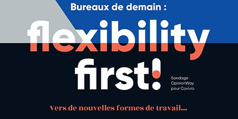 Bureaux de demain : flexibility first !